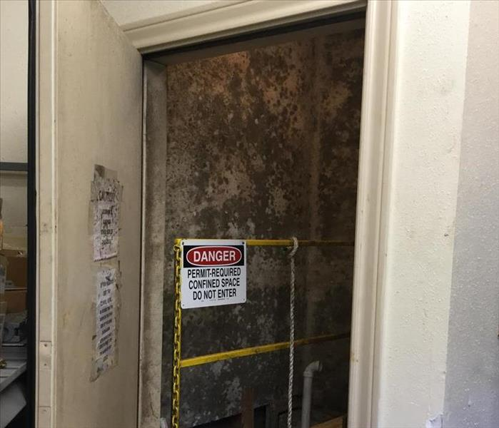 Mold Remediation in Beaumont, TX Before